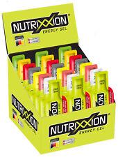 Nutrixxion Energy Gel Karton 24 Beutel 44g *9 Sorten / auch mischbar*