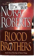 BLOOD BROTHERS (Sign of Seven #1)  by Nora Roberts