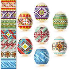 Heat Shrink Sleeve Decoration Easter Egg Wraps Pysanka Traditional Ornament