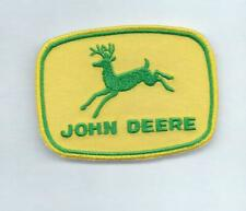 New 2 1/4 X 3 Inch John Deere Iron On Patch Free Shipping P1