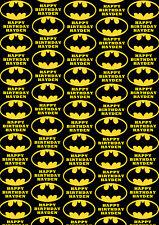 BATMAN Personalised Gift Wrap - DC Comics Batman Wrapping Paper - DC Comics