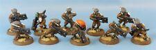 Tau Warriors Painted - Warhammer 40k AoS #1BK