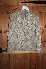Wallis Ladies Evening / wedding / party Jacket size 14 Gold /cream fabric
