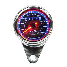 LED Motorcycle Speedometer For Harley Dyna Sportster Cafe Racer Cruiser Chopper