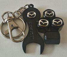 Mazda Negro Polvo Tapas De La Válvula Llave limitada todos los modelos Retail Pack Mazda 5 RX-7