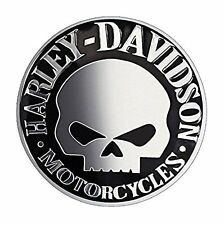 3D Metal Skull Sticker Car & Bike Sticker Soft Aluminum Decal