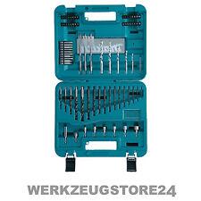 Makita 77-tlg. Bohrer-Bit-Set D-47226 Holzbohrer Metallbohrer Steinbohrer