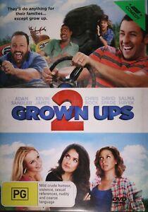 Grown Ups 2 DVD, Adam Sandler, Kevin James TRACKED POST!