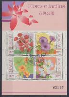 MACAU - Michel-Nr. Block 17 gestempelt/o (Blumen und Gärten / Flowers, Garden)