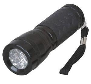 TORCIA LAMPADA PORTATILE RISPARMIO ENERGETICO A 9 LED