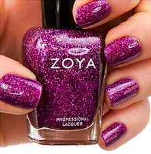 ZOYA ZP646 AURORA sugarplum purple glitter nail polish lacquer~FESTIVE FAVORITES