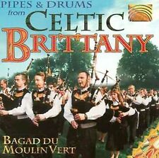 Pipes & Drums from Celtic Brittany, New Music