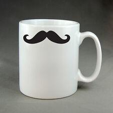 MOUSTACHE MUG CUP - COFFEE TEA JOKE NOVELTY