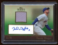 2011 TRIBUTE DAVID WRIGHT AUTOGRAPH AUTO GAME JERSEY #D /75  METS    $450 A PACK