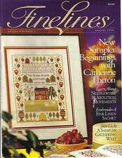 FineLines Magazine Summer 1999 Vol 4 No 1.  COPY