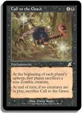 MTG MAGIC FLEAU/SCOURGE RARE JAPANESE CALL TO THE GRAVE