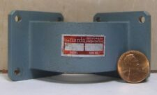 NARDA MICROWAVE CORP MODEL: 350E WAVEGUIDE 90 d. ELBOW