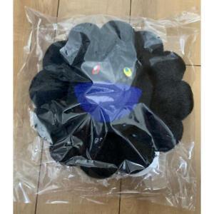 Takashi Murakami Black Flower Cushion Pillow plush 30cm Complexcon kaikai kiki