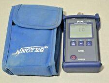 Afl Noyes Opm4 4d Sm Mm Fiber Optic Power Meter Opm4