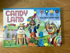 CANDY LAND DYLAN'S CANDY BAR EDITION KIDS AGES 3+ MILTON BRADLEY GAMES TOY