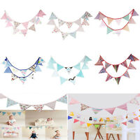 3.2m Ethnic Cotton Bunting Pennant Flags Banner Garland Home Party Wedding Decor