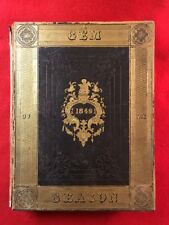 Gem Of The Season 1849 with 20 Splendid Engravings Extremely Rare