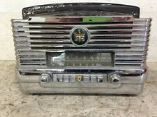 Vintage 1949 1950 Dodge / Plymouth Deluxe 6v Am Radio & Bezel Mopar Model 807