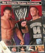 ALBUM FIGURINE WRESTLING WWE,WWF STICKERS COLLECTION HULK HOGAN,UNDERTAKER,DIVAS