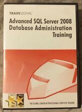 TrainSignal Advanced SQL Server 2008 Database Administration Training DVD