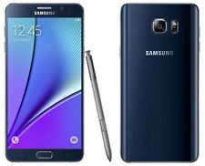 "Brand New Samsung Galaxy Note5 N920A Smartphone 32GB  5.7"" 4G LTE Blue"