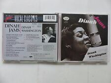 CD ALBUM DINAH JAMS Dinah Washington 814639 2
