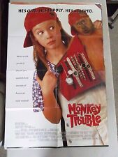 Vintage 1 sheet 27x41 Movie Poster Monkey Trouble 1994 Thora Birch Mimi Rogers