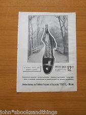 1907 FABBRICA ITALIANA CALZATURE PIATTI ANTICA PUBBLICITA EPOCA INDUSTRIA MILANO