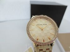 Michael Kors MK Damen Armband Uhr MK3120 Edelstahl Farbe gold Uhren Damenuhr neu