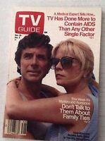 Tv Guide Magazine David Birney Meredith Baxter Nov 28-December 4 1987 021417RH