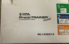 WNL Products WL120ES10 AED Defibrillator Practi-Trainer Essentials Base Model...