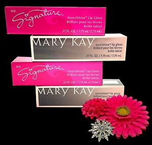 Mary Kay Retired Signature Lip Gloss Choose From Many Colors Tints Sparkle Shine