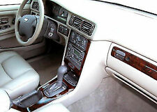 VOLVO S70 V70 FIT 1998 1999 2000 NEW STYLE INTERIOR CARBON WOOD DASH TRIM KIT18P