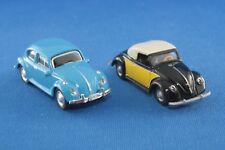 Schuco Praliné VW Käfer + Hebmüller Cabriolet 1/87 H0 o. OVP Sammlungsauflösung