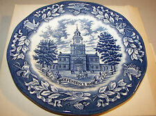 Independence Hall Bicentennial Plate Avon Mib 1976 Enoch Wedgwood