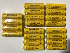 20-pcs1.2v AA (300mAh) Ni-Cd Rechargeable Battery For Solar Light