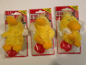 KONG Dr Noys Toy Extra Small 3 Pack Duckie Toys-Dog Toys For Small Dogs