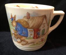 Collectible Royal Doulton Bunnykins Cup Barbara Vernon Postman