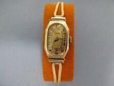 Rare Art Deco Gruen Guild 14K GF 15J 313/103 Ladies Watch..L@@K