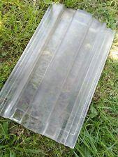 alter Glasdachziegel Glasziegel Glas Dachziegel-  ca. 40x24