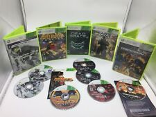 Lot Of 5 Xbox 360 Games Duke Nukem Dead Space 2 Gears of War 3 Crackdown