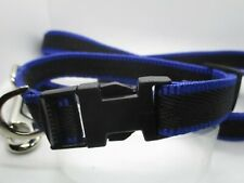 Special price  handmade collar and lead set Small / puppy dog