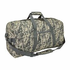 "DALIX 21"" Large Duffle Bag Sports Gym Ditty Bag Traveling Bag Digital Camouflage"