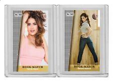 Sandra Bullock rare MH Book-Match #'d 2/3 Tobacco card no. 642
