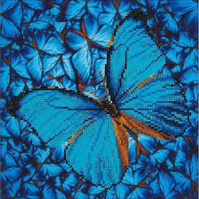 Diamond Dotz Flutter By Blue Butterfly ~ Diamond Embroidery Facet Art Craft Kit